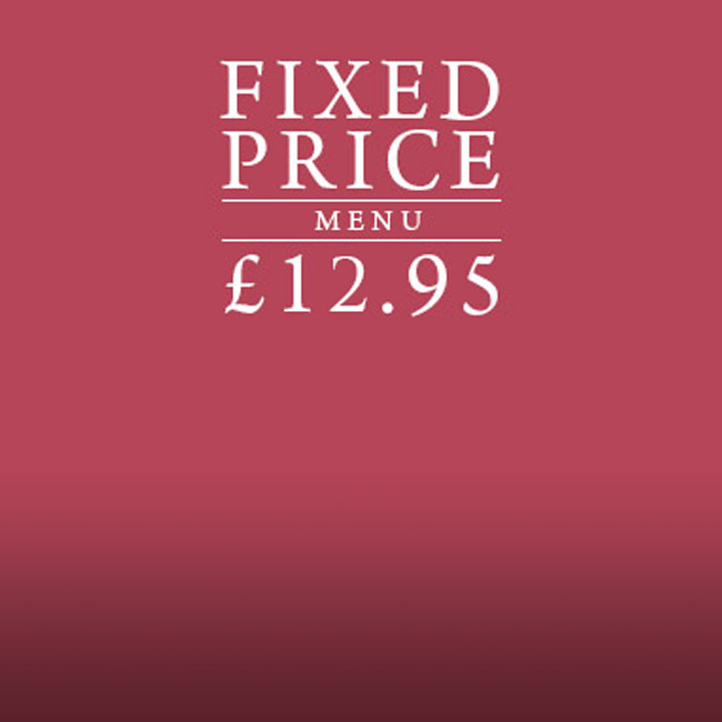 Fixed Price Menu at The Arkle Manor