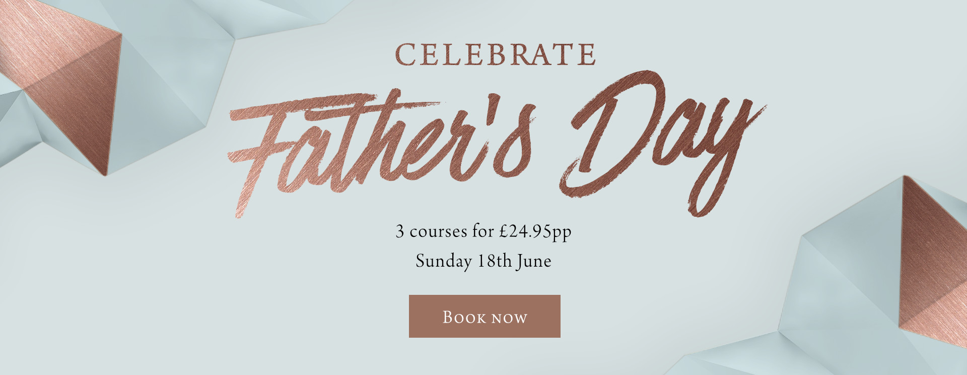 Father's Day at The Arkle Manor - Book now